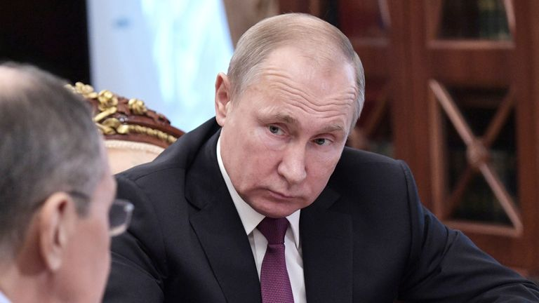 Putin said he would pull out of the treaty in the same time frame as the US