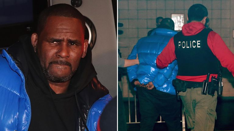 The arrest of R Kelly