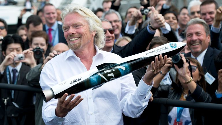 The new funding would value Virgin Galactic and Virgin Orbit at more than $2bn