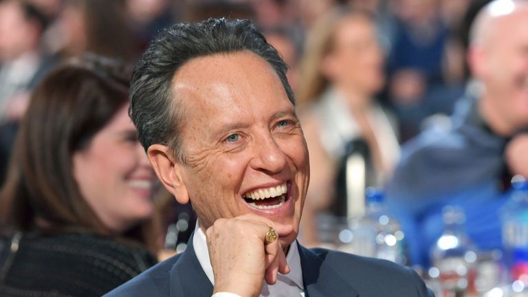 Richard E Grant says he has no chance of picking up an Oscar