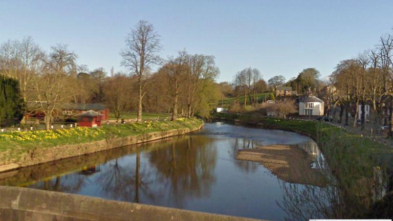 The River Eden runs through the Cumbrian village of Appleby.