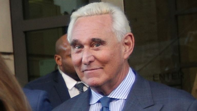 Roger Stone was brought before a judge on Thursday