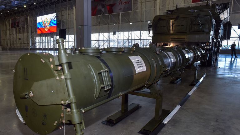Russia's 9M729 cruise missile