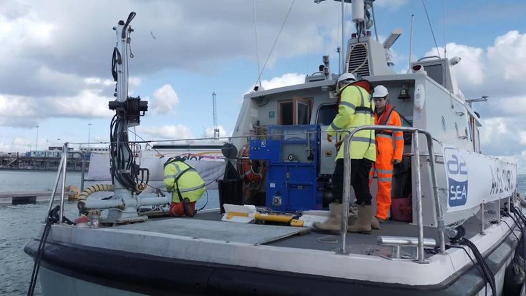 Vessels are resuming the search in a narrowed suspected crash site