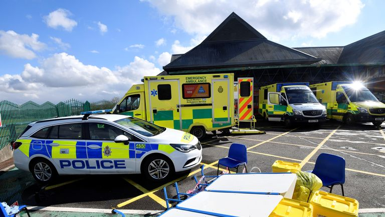 The hospital treated the victims of the novichok attack