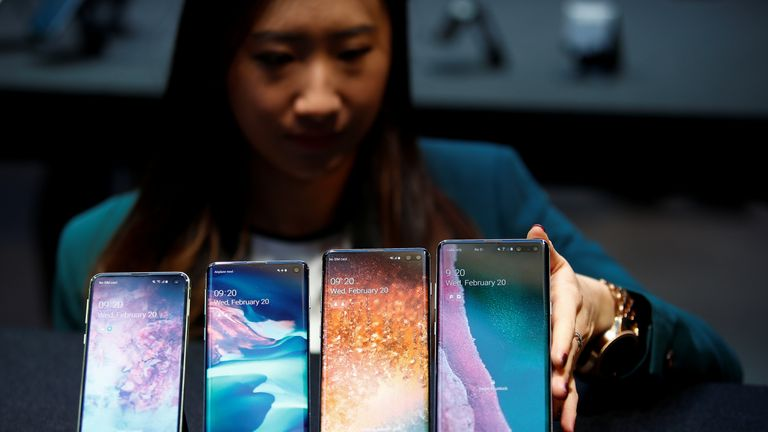 The S10e, S10, S10+ and S10 5G Samsung Galaxy smartphones