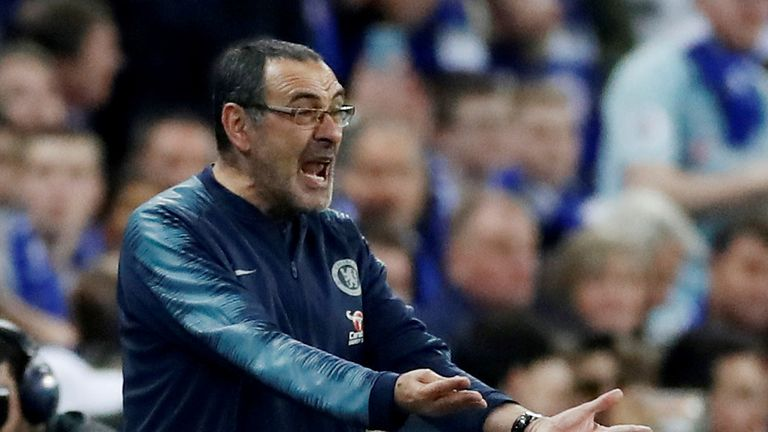 Chelsea manager Maurizio Sarri was furious with Kepa for refusing to come off