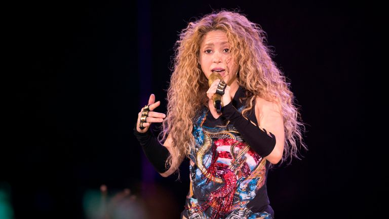 Shakira is facing claims she failed to pay €14.5m in taxes.