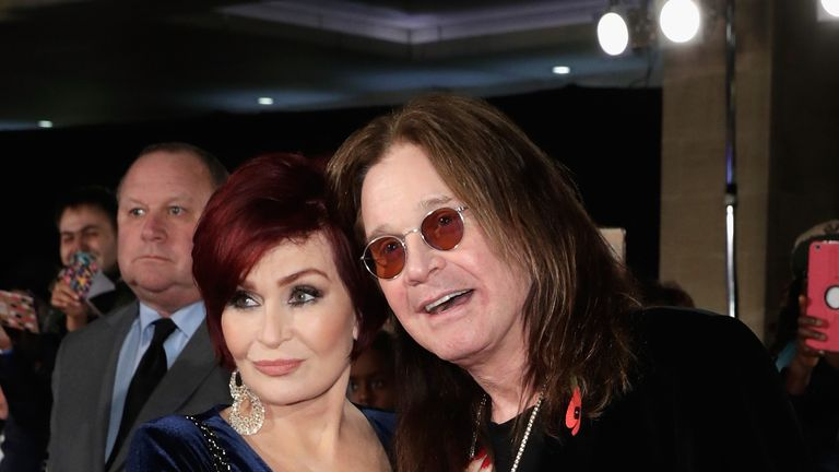 Sharon Osbourne said her husband needed six weeks to recover