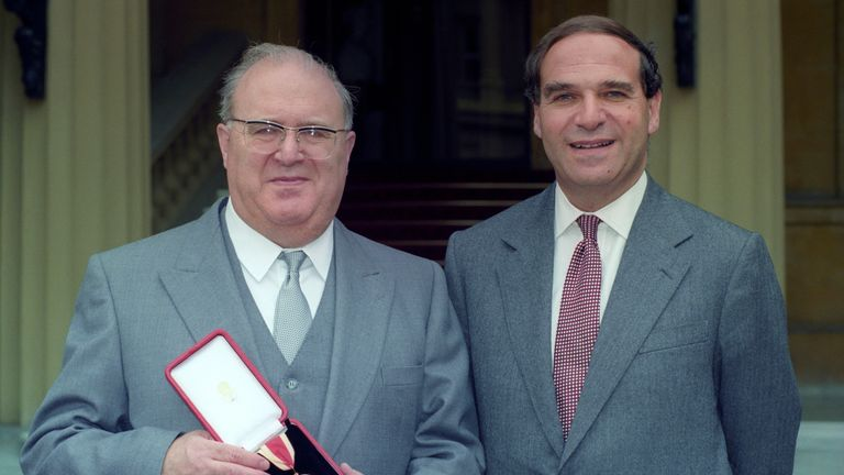 Sir Samuel Brittan, 85, is the brother of the late Tory minister Leon Brittan