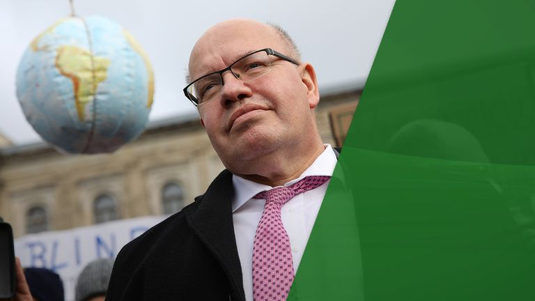 Mr Altmaier stressed he was not talking about full-blown nationalisation, but the state 'taking temporary stakes in companies'