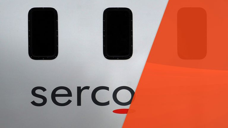 Serco is one of the so-called 'strategic suppliers'