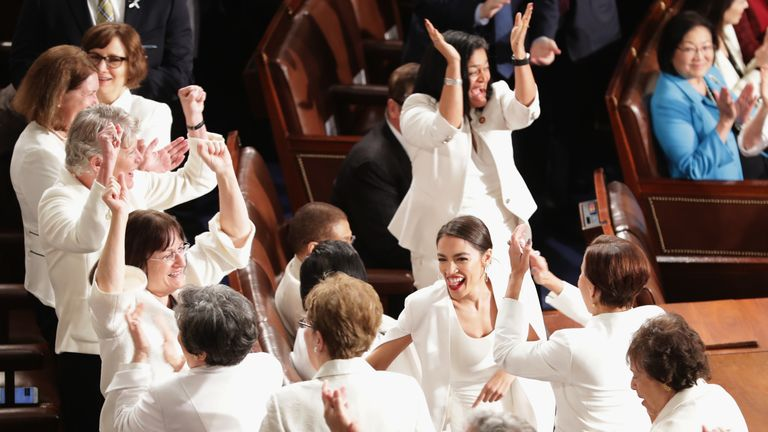 Why women wore white at the State of the Union