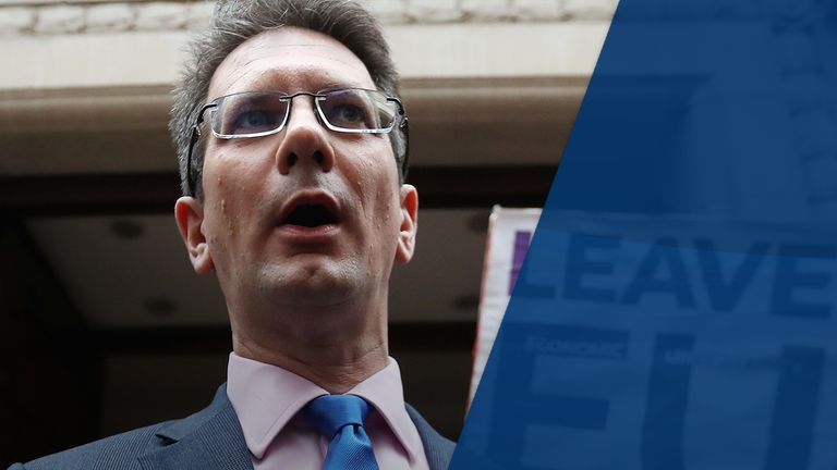 Steve Baker has said he believes 'political power must be under democratic control'