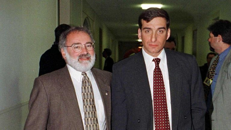 Steve Rambam, pictured here in 1997, has been a private investigator for 36 years