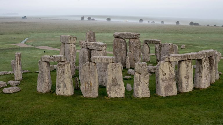 Stonehenge stones moved by land not sea, new study suggests