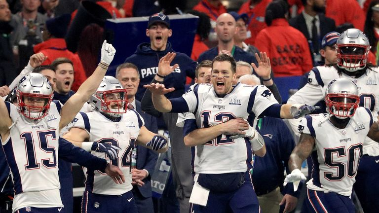 Image result for Super Bowl 2019: New England Patriots win