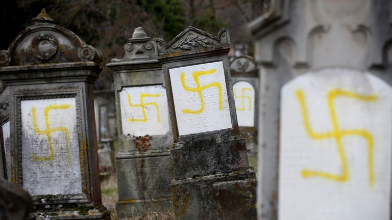 There has been a rise in antisemitism in France since last year