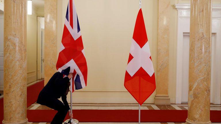 Switzerland is already not part of the European Union