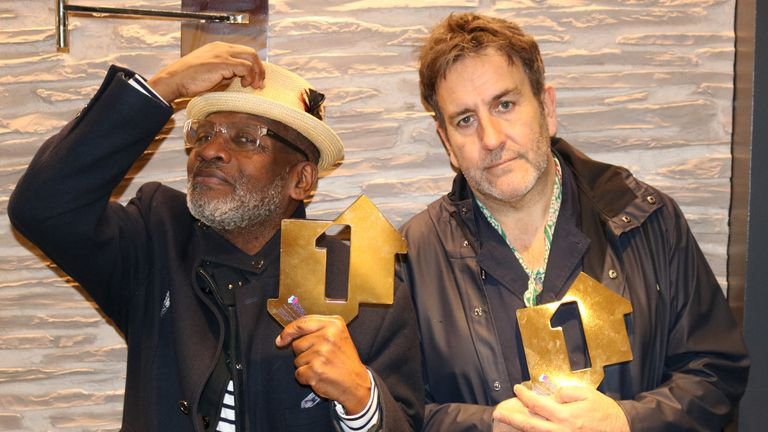 Lynval Golding and Terry Hall: The Specials have scored their first ever number one album with Encore, 40 years after their first album