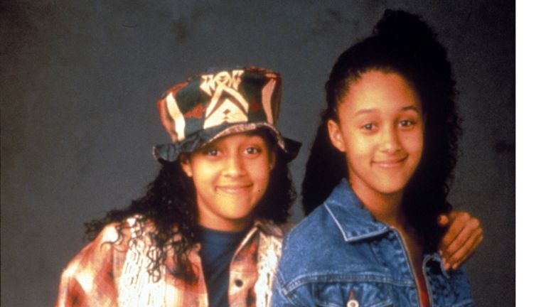 The twin sisters starred together in 90s comedy Sister, Sister
