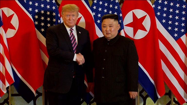 North Korea 'restoring' rocket site after Trump nuclear talks collapse