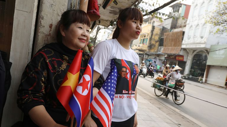 The has been a carnival-like atmosphere in the Vietnamese capital