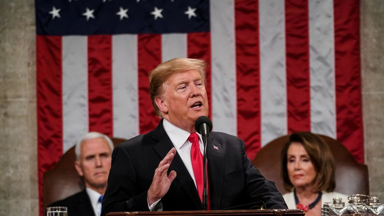 State of the Union: Trump reveals plan to meet Kim Jong Un