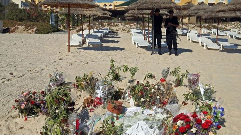 More than 30 Britons died at the tourists resort shooting