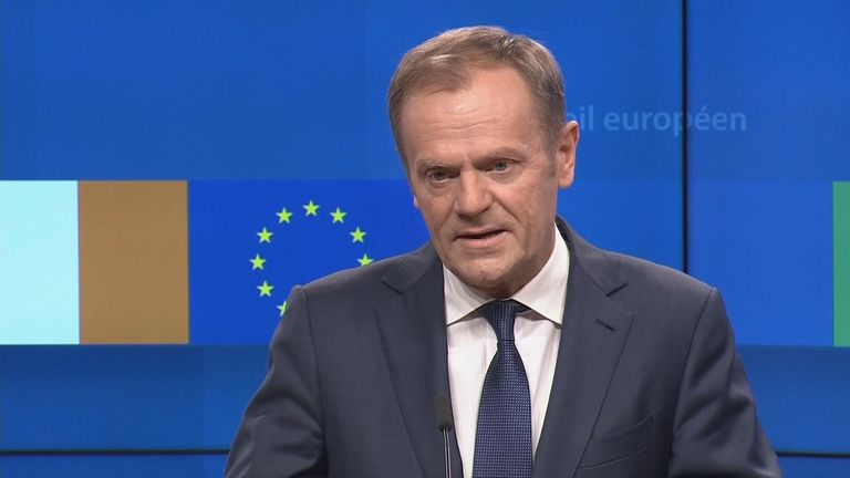 EU Council president Donald Tusk had extremely strong words for those who pushed for Brexit without planning for its consequences.