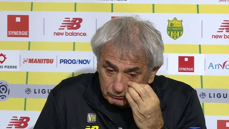 Nantes football club manager Vahid Halilhodzic
