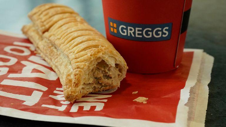 Greggs vegetarian sausage roll 6/1/2019