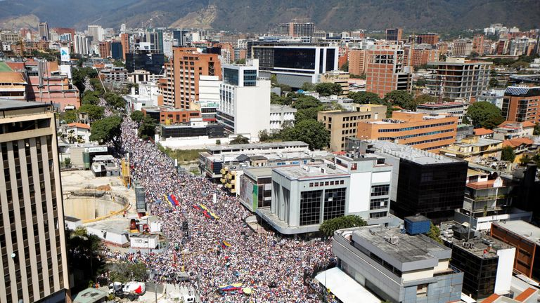 Hundreds of thousands of people turned out to try and bring about change in their country