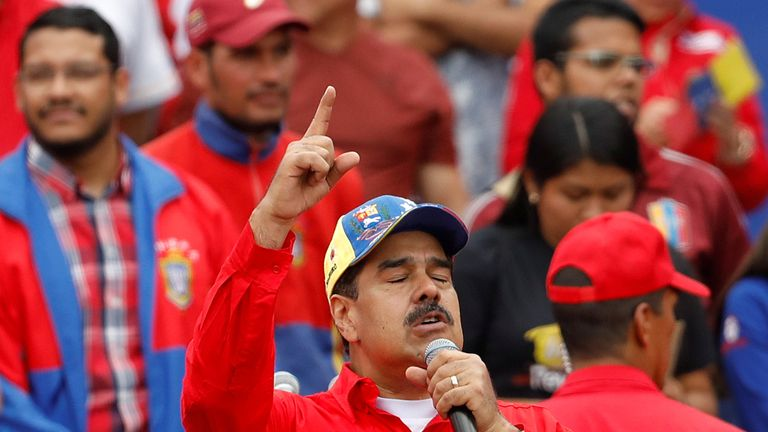 Venezuela's hardline socialist leader Nicolas Maduro  is widely seen as a dictator