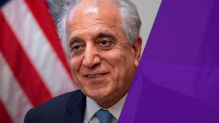 Mr Khalilzad cautioned last week that there is still 'a lot of work' to do