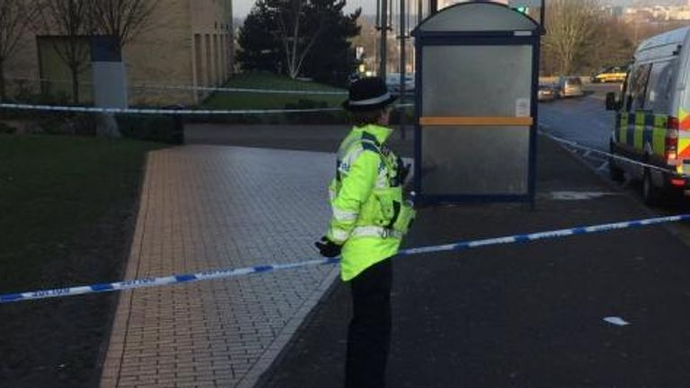 The teenager was attacked outside Joseph Chamberlain Sixth Form College on Wednesday