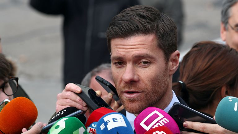 Former Real Madrid star Xabi Alonso appeared in court over tax fraud charges