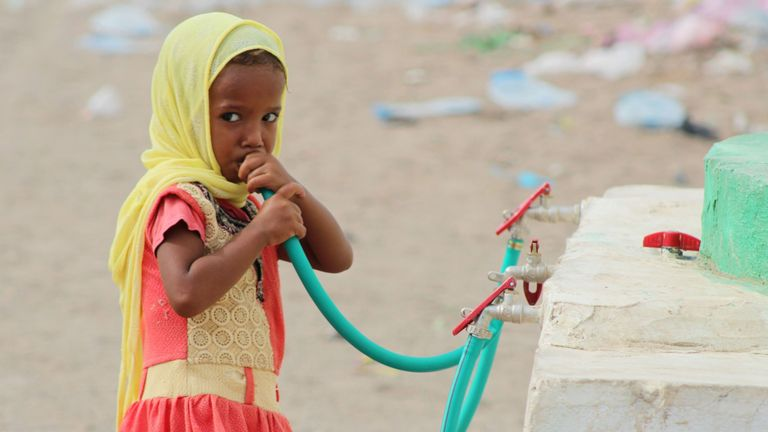The humanitarian crisis in Yemen has been described as 'unconscionable'