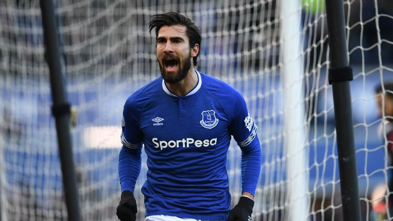 Andre Gomes says no decision has been made yet on his Everton future