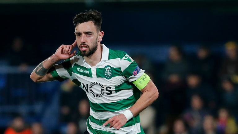 Man Utd strike personal terms with Sporting CP midfielder Bruno Fernandes