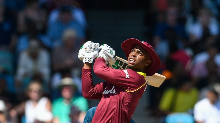 Check out the best bits from Shimron Hetmyer's fourth one-day international century