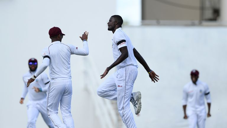 West Indies crush England in second Test to clinch series