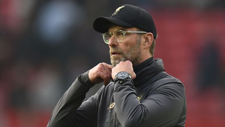 Klopp wants Liverpool to recognise 'pure opportunity' of title tilt