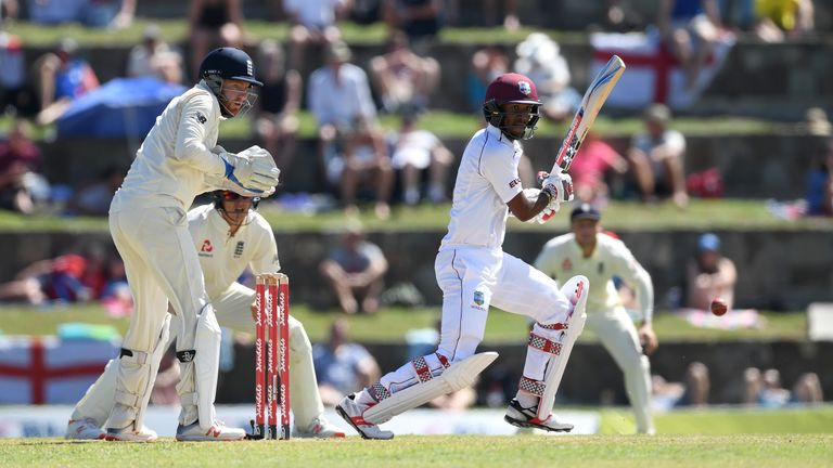 Windies Win First Test Series Against England in 10 Years