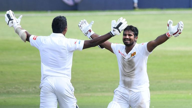 Sri Lanka beat South Africa in record-breaking last stand