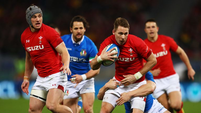 Liam Williams is a different proposition at full-back for Wales