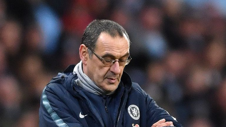 Maurizio Sarri's Chelsea struggles explained by Italian football expert Adam Digby | Football News |