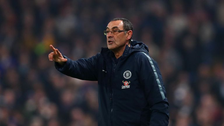 Maurizio Sarri says Kepa incident impacted Champions League ambitions