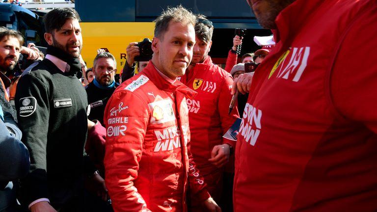527c4841c2 F1  Sebastian Vettel describes Charles Leclerc as  full rival