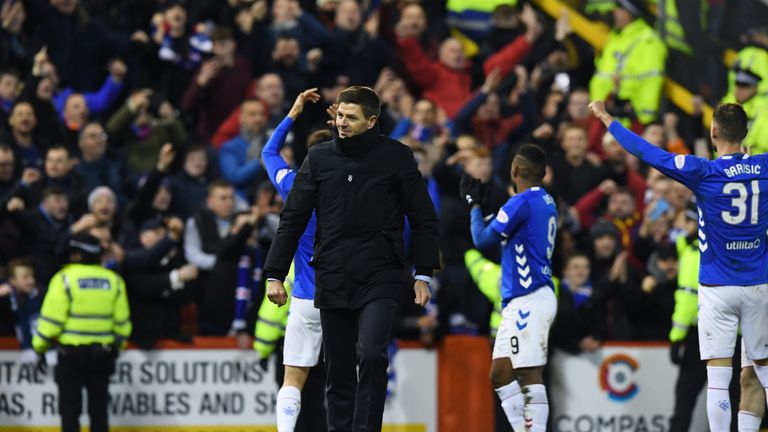 Gerrard says his players won the fans back over after beating Kilmarnock in their Scottish Cup fifth-round replay at Ibrox